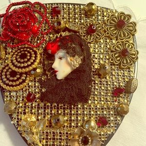 Other - Jeweled mirror